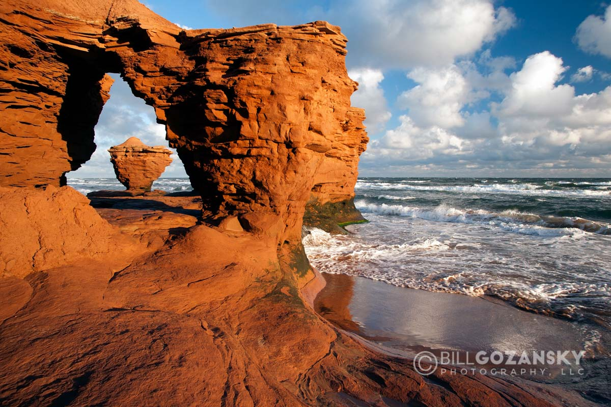 Sea Stacks at Thunder Cove - Prince Edward Island, Canada