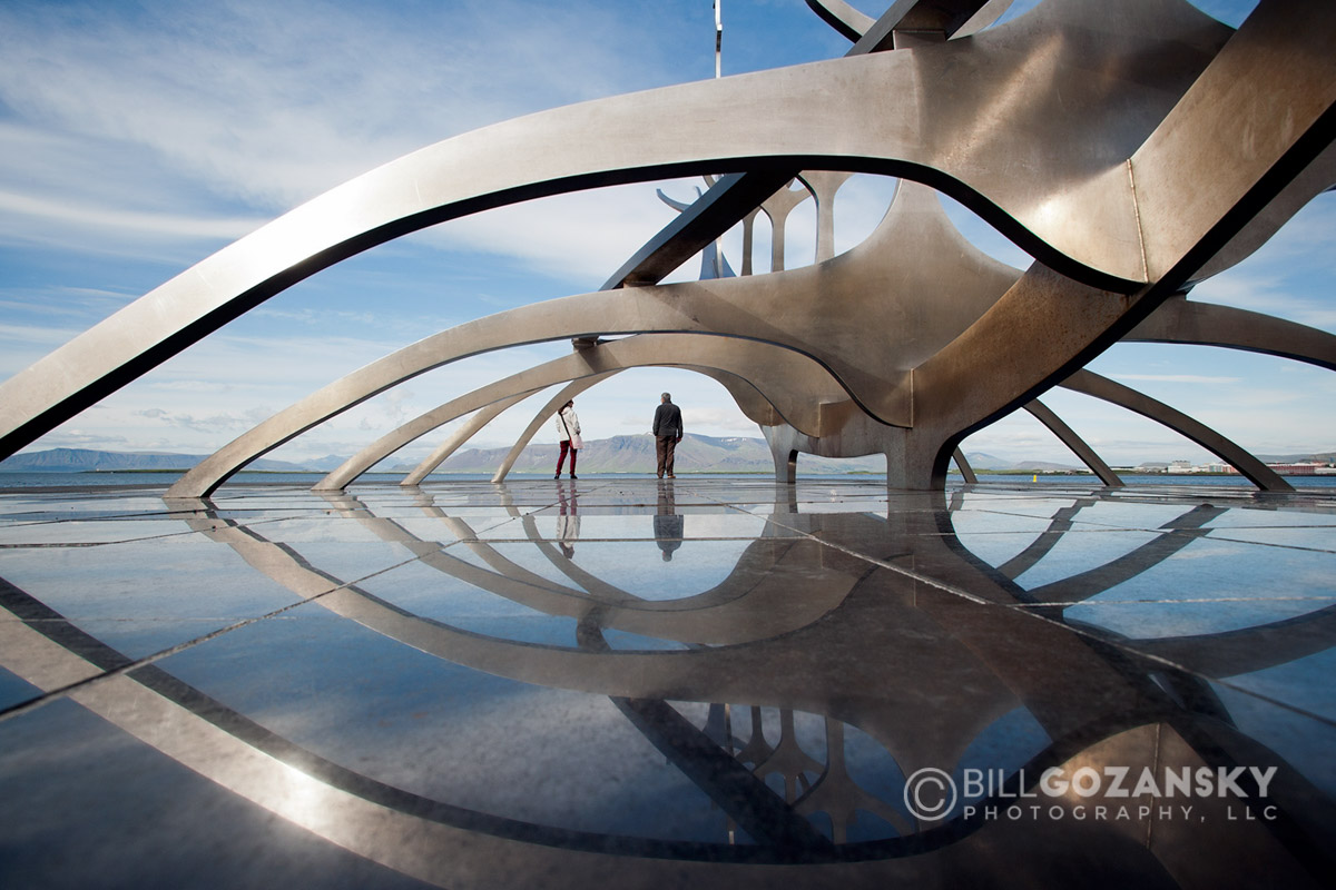 The Sun Voyager Sculpture - Reykjavik, Iceland