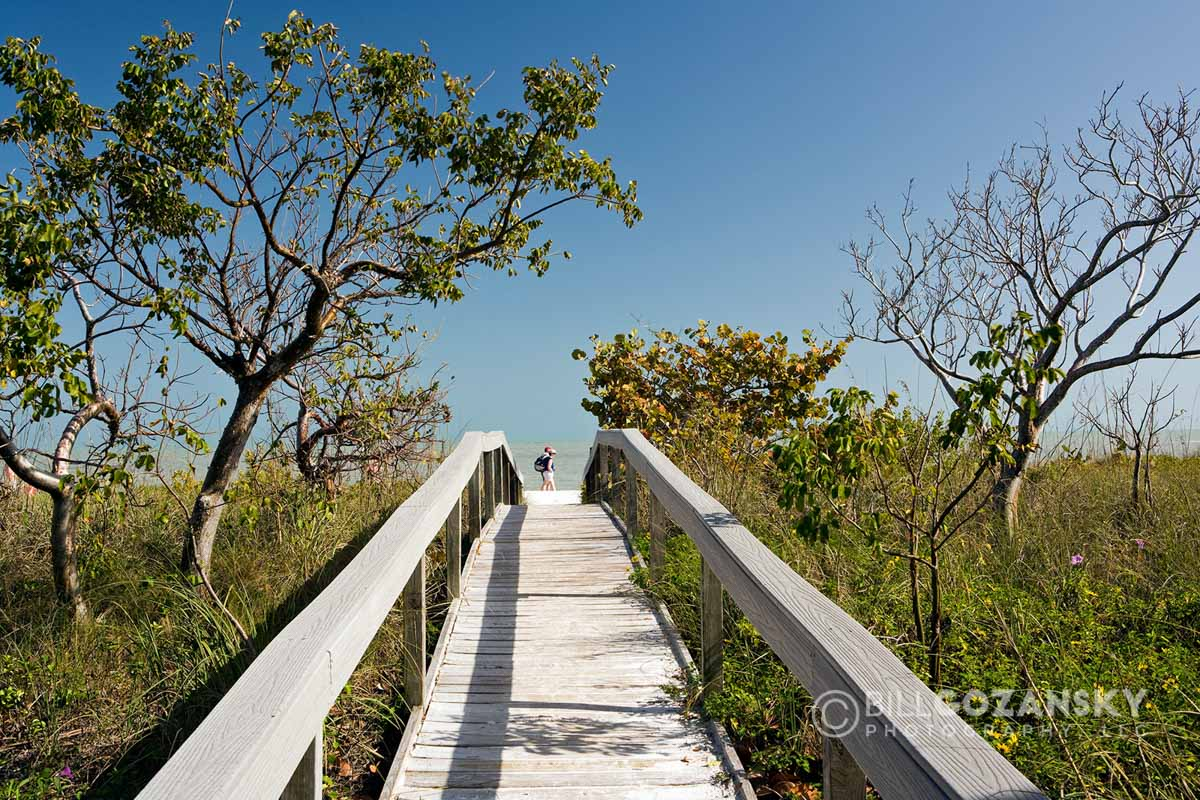 Boardwalk to Beach - Sanibel Island, Florida, USA