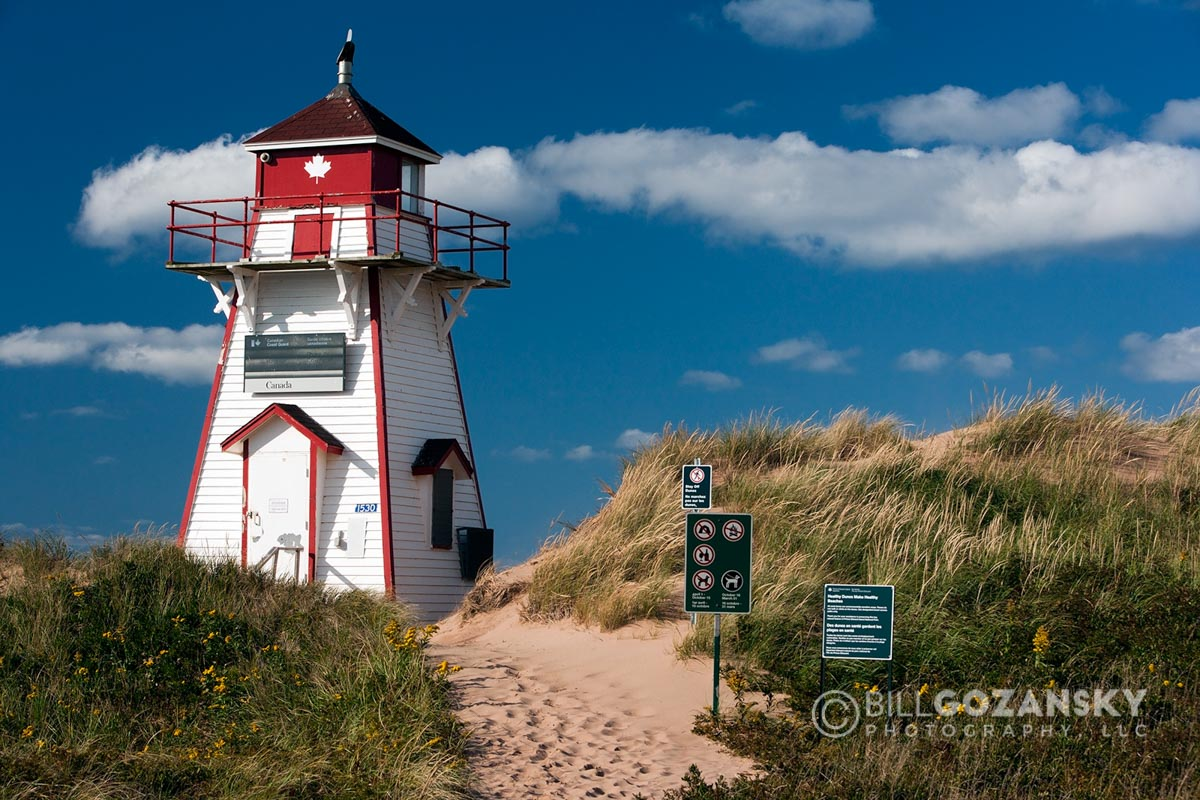 Covehead Harbour Lighthouse - Covehead, Prince Edward Island, Canada