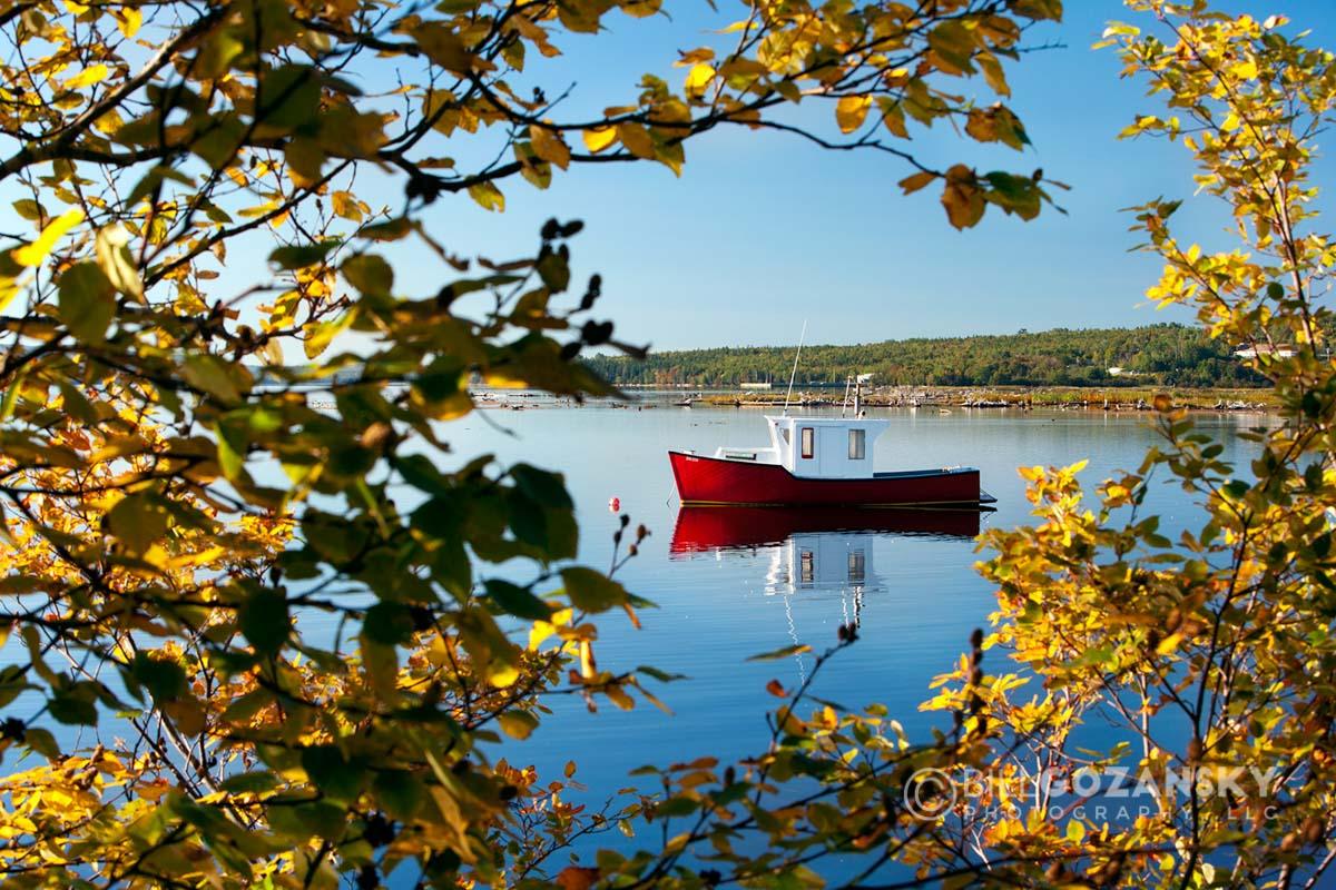 Red Cape Islander near Baddeck, Cape Breton Island, Nova Scotia, Canada