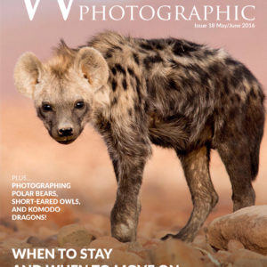Wildlife Photographic Issue 18 Cover
