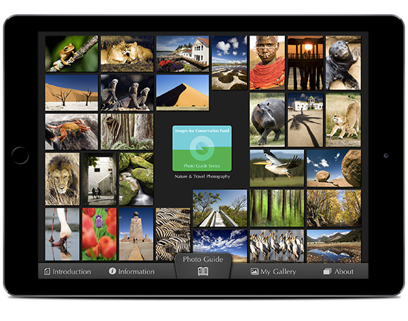 The Images for Conservation Fund Photo Guide to Nature & Travel Photography App: Summary