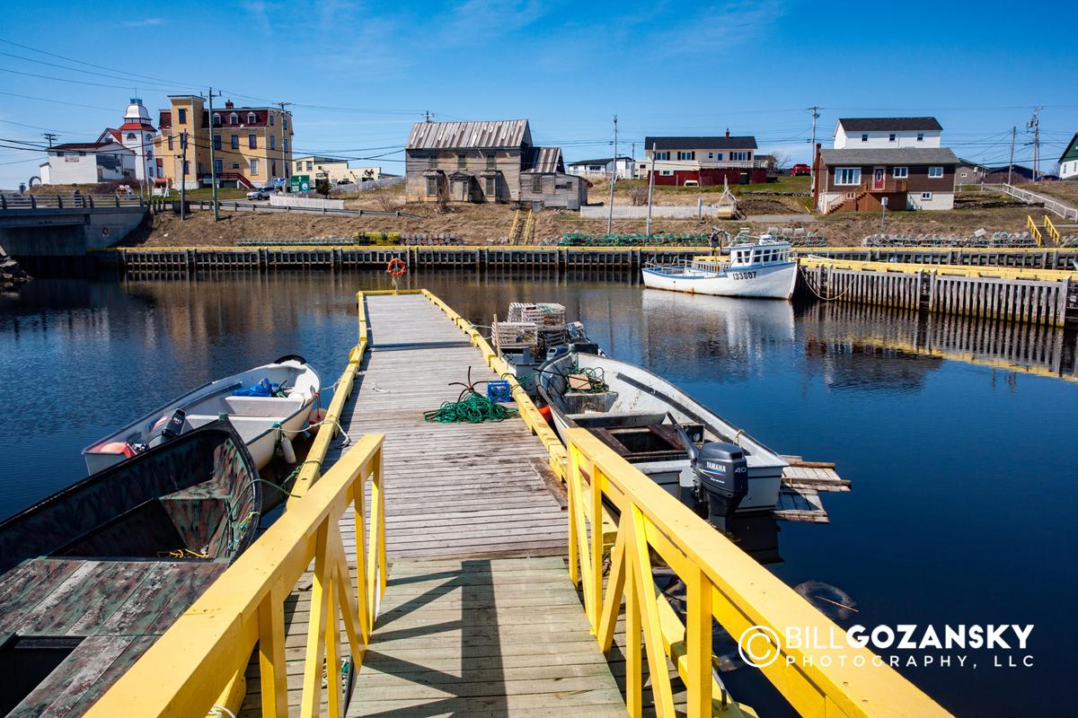 Bonavista Harbour, Newfoundland, Canada