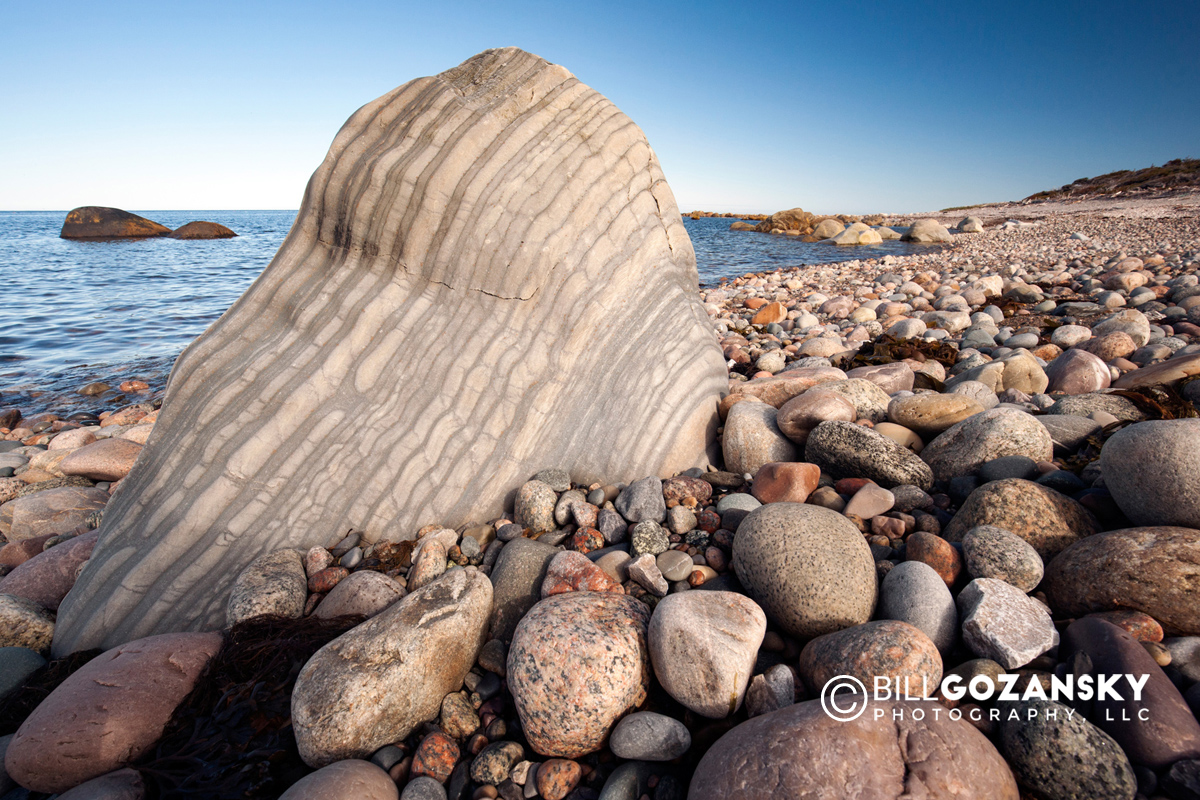 Rocky beach - Gros Morne National Park, near Rocky Harbour, Newfoundland, Canada